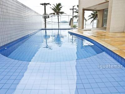 Apartamento De Luxo Duplex Frente Ao Mar No Guaruja - A3066mli