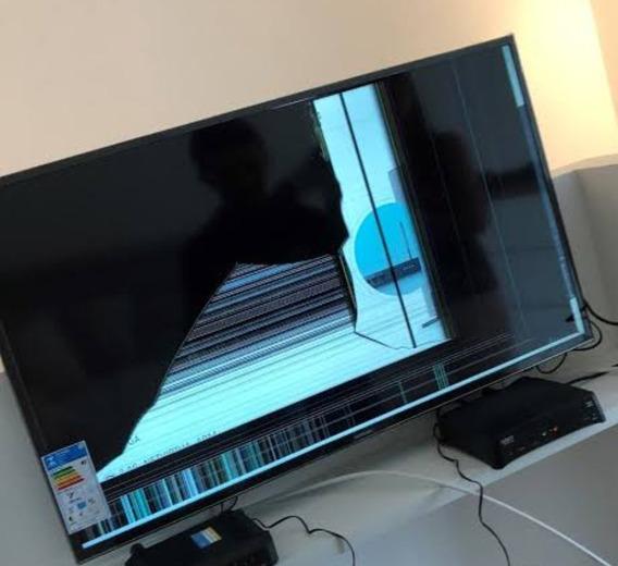 Smart Tv Samsung 40 - Tela Quebrada
