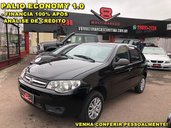 Fiat Palio Economy 1.0 4p. Financia 100% (uno Gol Hb20