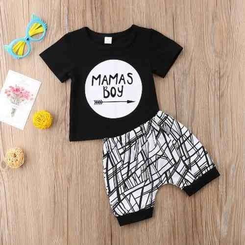 Conjunto Roupa Infantil Menino Fashion Importado Mamas Boys