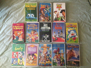 Películas Walt Disney Vhs Colección