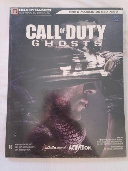 Revista Livro Guia Detonado Call Of Duty Ghosts Novo Lacrado