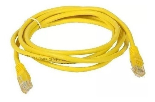 Cable De Red Utp 5 Metros Rj45 Cat 5e Patch Cord Ethernet