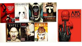 American Horror Story Serie Completa En Dvd 1-8 [ Original ]