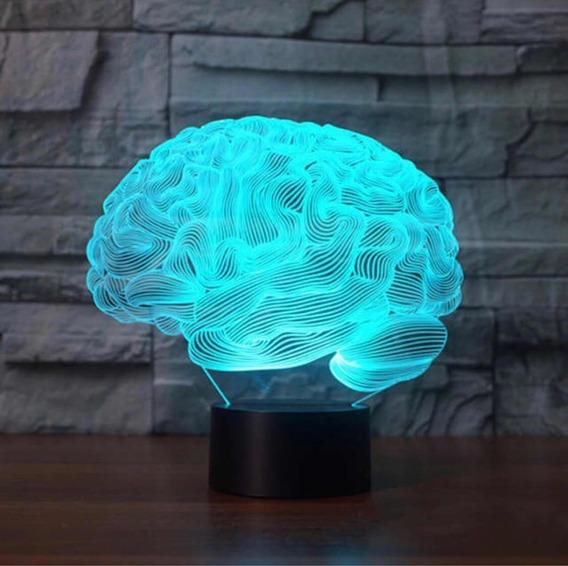 Medthings - Luminária Cérebro 3d