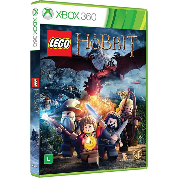 Lego O Hobbit Br - Xbox 360 Dublado Em Português