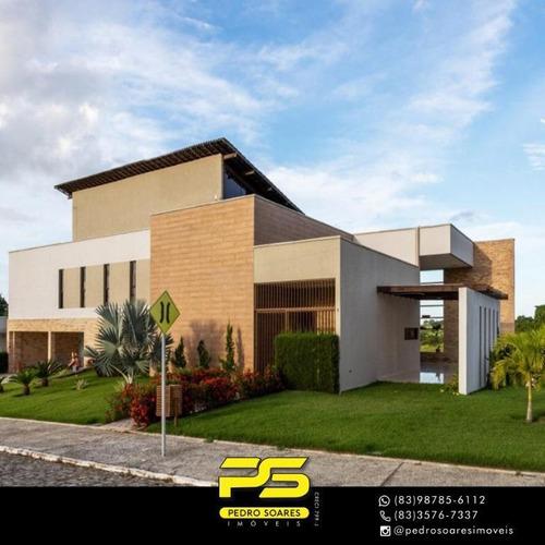 Casa Com 7 Dormitórios À Venda, 550 M² Por R$ 1.300.000 - Zona Rural - Gurinhém/pb - Ca0733