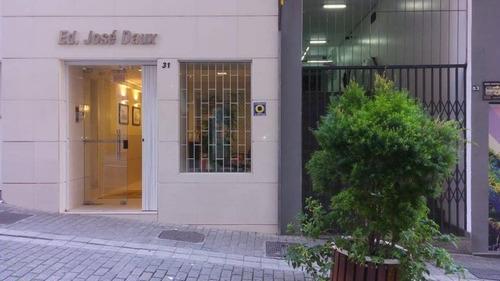 Imagem 1 de 17 de Conjunto De Seis Salas Comerciais Na Rua Mais Charmosa Do Centro De Florianópolis - Sa0568