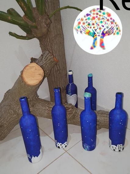 Reciclart Arg: Botellas Decorativas