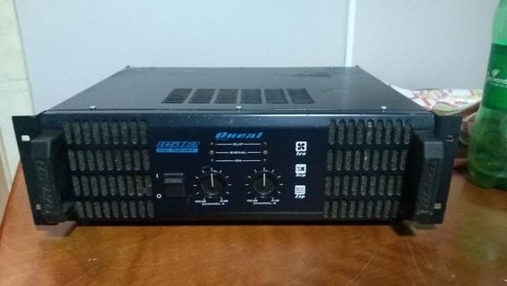 Amplificador De Potência Oneal Op 8502 / 2 Canais 2000 Watt