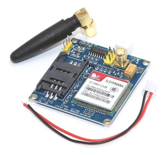Módulo Gsm Gprs Sim900a Arduíno Gsm Com Antena Quad Band