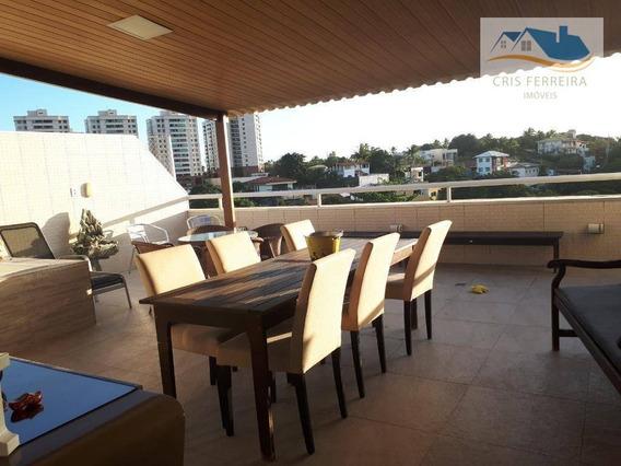Cobertura Com 3 Dormitórios À Venda, 172 M² Por R$ 650.000,00 - Pituaçu - Salvador/ba - Co0017