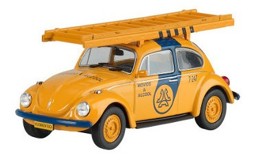 Veículos De Serviço - Volkswagen Fusca Telesp 1:43 (s)