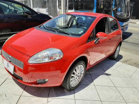 Fiat Punto Elx 1.4 Flex Completo 2010 Vermelho
