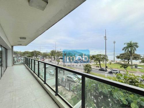 Imagem 1 de 30 de Para Voce Investidor - Apartamento Para Reforma Geral - Amplo / Vista Mar!! - Ap8033