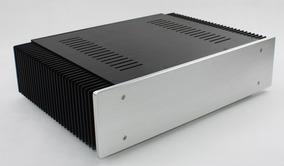 Gabinete De Aluminium Para Amplificador Com Dissipador
