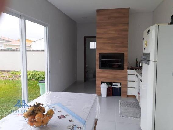 Casa Com 3 Dormitórios À Venda, 217 M² Por R$ 650.000,00 - Praia De Fora - Palhoça/sc - Ca0712