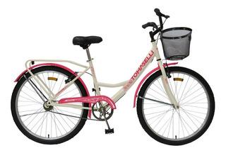 Bicicleta Tomaselli Lady Rodado 26