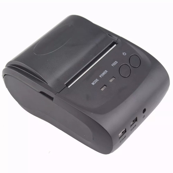 Mini Impressora Térmica Bluetooth 58mm Velocidade 90mm/s