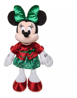 Disney Store Peluche Minnie Mouse Navidad 38 Cm, 2019