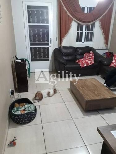 Sobrado Em Condomínio Para Venda No Bairro Itaim Paulista, 3 Dorm, 1 Vagas,  Quintal. 102mts² De Área Construida. - 6977