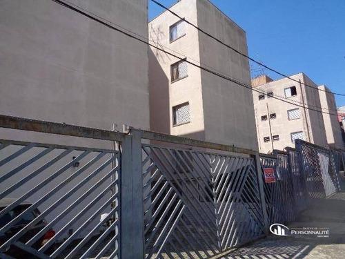 Apartamento Com 2 Dormitórios À Venda, 53 M² Por R$ 210.000,00 - Jordanópolis - São Bernardo Do Campo/sp - Ap0601