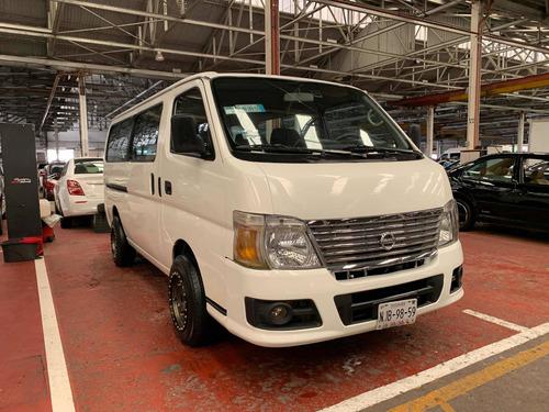 Imagen 1 de 12 de Nissan Urvan Pasajeros Std 5 Vel Ac 2012