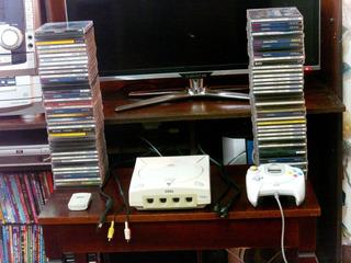 Sega Dreamcast Con Control, Memoria,sus Cable Y Juegos