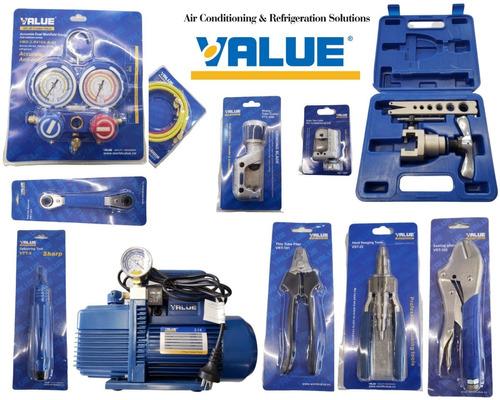 Kit Value N°2 Herramientas Refrigeración Máxima Calidad