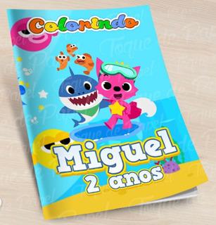 35 Kit Colorir Revista +massinha + Giz De Cera