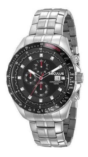 Relógio Masculino Seculus Prata 23617g0svna2