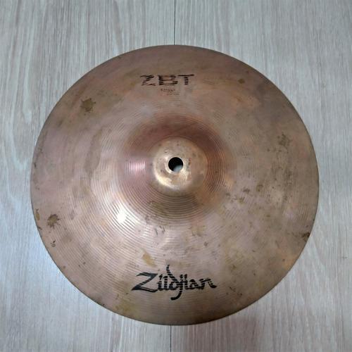 Imagem 1 de 4 de Prato Zildjian Splash 10 Zbt Zbt10s Liga B8 Bronze Usado