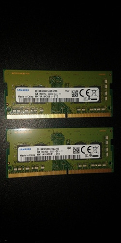 Imagem 1 de 4 de Memória Ram Ddr 4 Sodimm 2666 16gb (2x8) Samsung