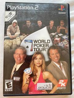 World Póker Tour Playstation 2 Ps2