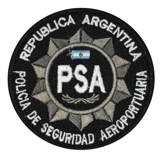 Escudo Bordado Policía De Seguridad Aeroportuaria Psa