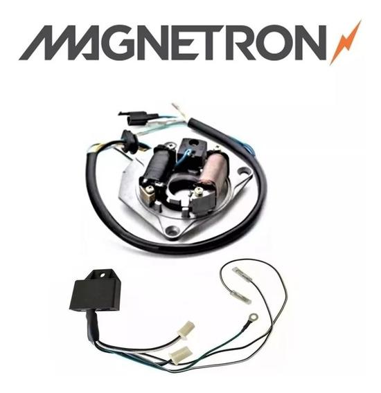 Kit Conversor Cdi Cg 125 1983 Até 1991 Magnetron