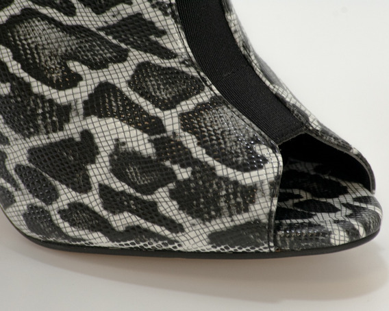 Botines 277 Leopardo Negro