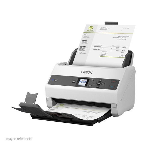 Ep Escaner De Documento Epson Workforce Ds 870 600dpi 65 P
