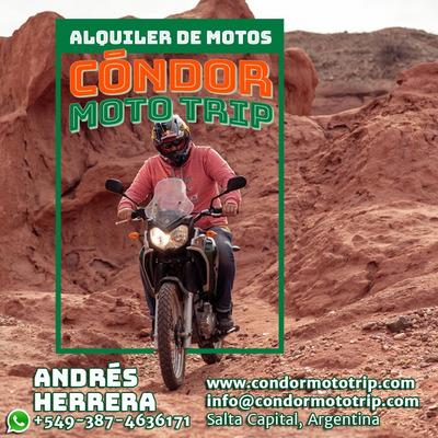 Alquiler De Motos Yamaha Tenere ,xtz ,tonado ,bmw 800cc