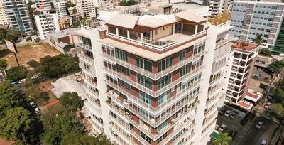 Penthouse De 4 Habitaciones 5pq En Naco Torre De Lujo