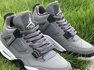 Air Jordan Retro 4 Cool Grey
