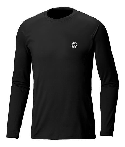 Camiseta Remera Térmica Frizada Black Rock