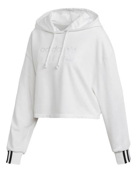 Buzo adidas Originals Cropped Hoodie Fm2483 Mujer