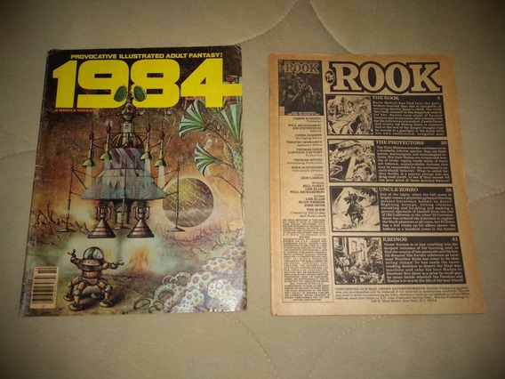 Revistas Da Warren Comics - 1984 E The Rook - Importadas