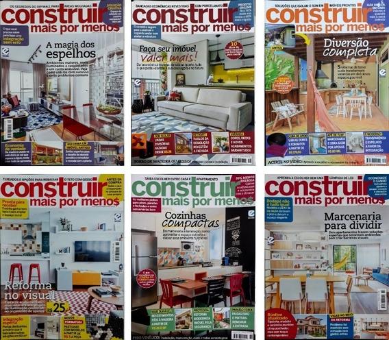 Kit Revistas Ideias Projetos Casas Construir Mais Por Menos