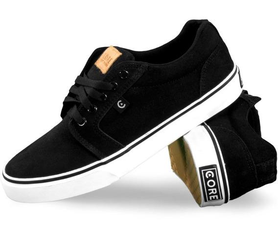 Tenis Core Footwear Smith Black/white