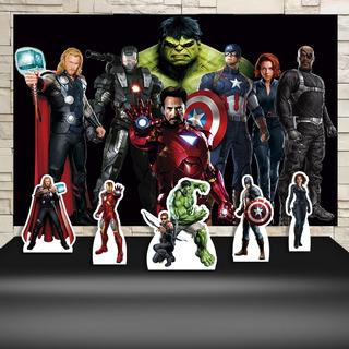 Kit Festa Aniversário Vingadores The Avengers Decoração Kit