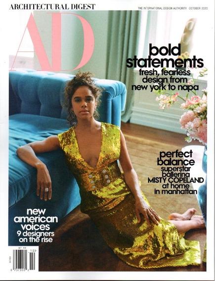 Revista Ad Architectural Digest - Decoração E Estilo