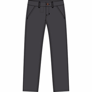 Lote 5 Pantalones Gabardina Kooga Talles 40 Al 52