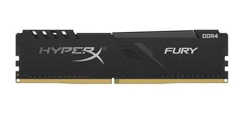 Memoria Ram Kingston Hyperx Fury Black, 4gb, Ddr4, 2666mhz